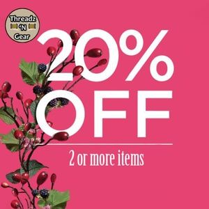Other - SAVE 20% WHEN YOU BUNDLE 2 OR MORE ITEMS